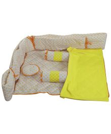 Babyoye Bedding Set 6 Pieces - Multi Colour