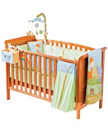 Cots&More 3 In 1 Baby Cot - Aspen