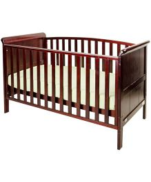 Cots&More 3 In 1 Baby Cot Cherry - Aspen