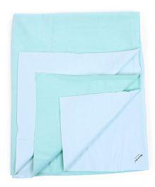Babyoye Quick Dry Sheet - Sea Green