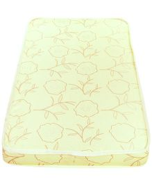 Spring Air Foam Printed Mattress - Cream