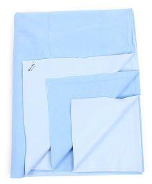Babyoye Quick Dry Sheet - Blue