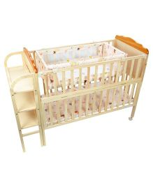 Good Baby Lilly Multifunctional Cot - Natural