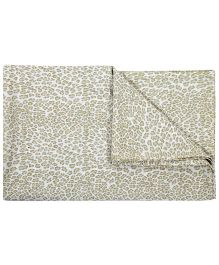 Babyoye Printed Double Bedsheet Pack of 2 - White & Light Brown