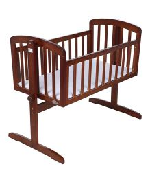 Babyoye Joy Cradle - Walnut Brown