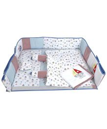M&M Bedding Set Multicolor - 8 Pieces