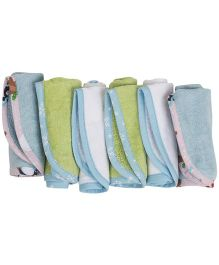 M&M Wash Cloth Pack Of 6 - Multicolor