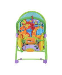 Toyhouse Toddler Rocker Cum Bouncer - Multi