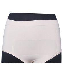 Cantaloop Maternity C-Section High Waist Panties - Tan