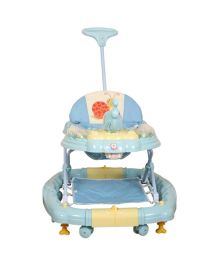 Deliababy Musical Walker Cum Rocker - Blue