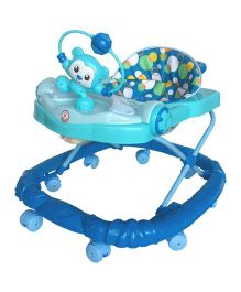 Deliababy Musical Acrobat Pada Walker - Blue