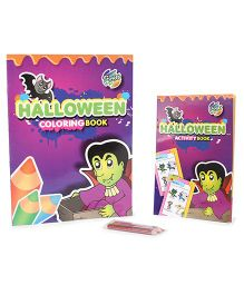 Chitra Halloween Activity And Coloring Book