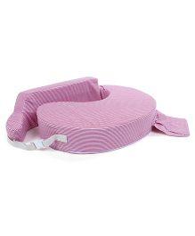 M&M Feeding Pillow - Purple