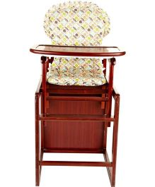 Cot&More Acton Highchair Cum Studytable 2 In 1 - Brown