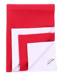 Babyoye Small Quick Dry Sheet - Red