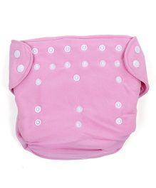 Babyoye Cloth Diaper With 2 Lining - Pink