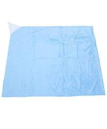 My Milestones Reversible Blanket - Blue