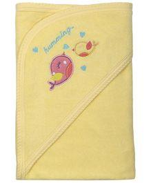 Babyoye Hooded Towel - Yellow