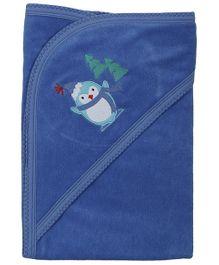 Babyoye Hooded Towel - Blue