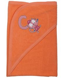 Babyoye Hooded Towel - Orange