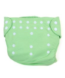 Babyoye Cloth Diaper With 2 Lining - Green