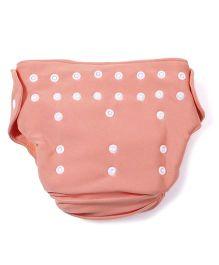 Babyoye Cloth Diaper With 2 Lining - Orange