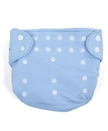 Babyoye Cloth Diaper With 2 Lining - Blue