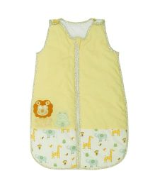 Babyoye Sleeping Bag Jungle Fun - Light Yellow