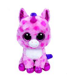 Ty Toy Sugar Pie Unicorn Soft Toy - Pink