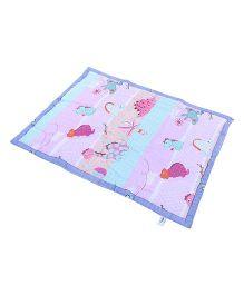 Owen Comforter - Pink Blue