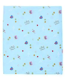 Babyoye Flat Sheet - Blue