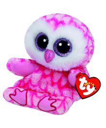 Ty Toy Milly Owl Smart Phone Holder - Pink