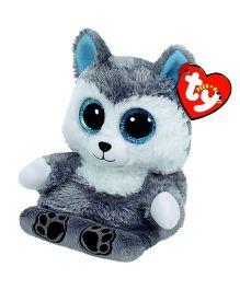 Ty Toy Scout Husky Smart Phone Holder - Grey