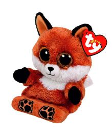 Ty Toy Sly Fox Smart Phone Holder - Brown