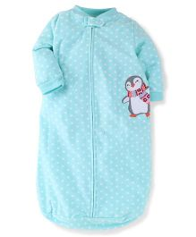 Carter's Sleep Bag Penguin Print - Turquoise