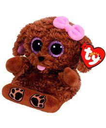 Ty Toy Zelda Dog Smart Phone Holder - Brown