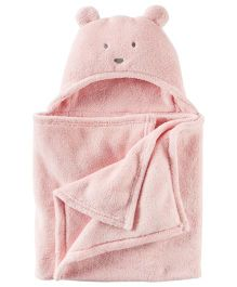 Carter's Sherpa Hooded Blanket