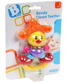 B-Kids Bendy Clown Teether - Multicolor