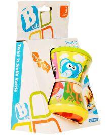 B Kids Twist N Smile Rattle - Multicolor