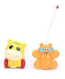 Mitashi Interactive Remote Buddy - Yellow Orange