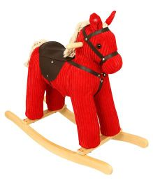 Playnation Rocking Horse With Sound - Red