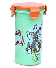 Onlykids Tumbler With Lid - Green And Orange