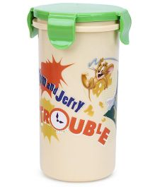 OnlyKids Tumbler With Lid - Green Cream