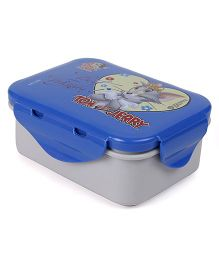 Tom And Jerry Mini Lunch Box - Grey and Blue
