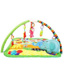 Babyoye Musical Deluxe Activity Play Gym - Mullticolor