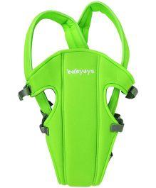 Babyoye 2 Way Basic Baby Carrier - Green