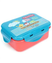 Fisher Price Mini Lunch Box - Blue And Red