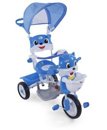 Toyhouse Tricycle Easy To Steer With Canopy - Blue