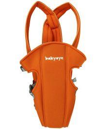 Babyoye 2 Way Basic Baby Carrier - Orange