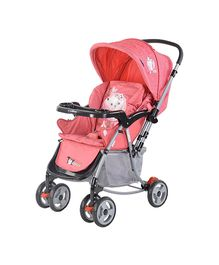 Toyhouse 2 in 1 Rocking Stroller - Pink